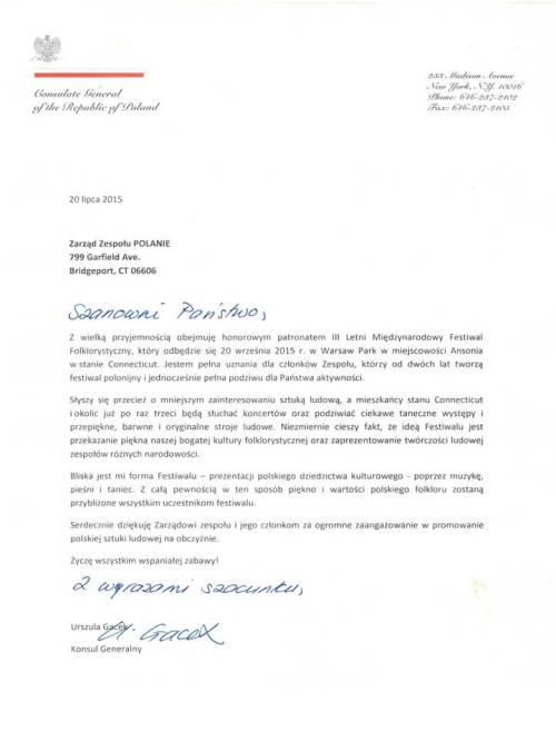 Konsulat patronat 2015